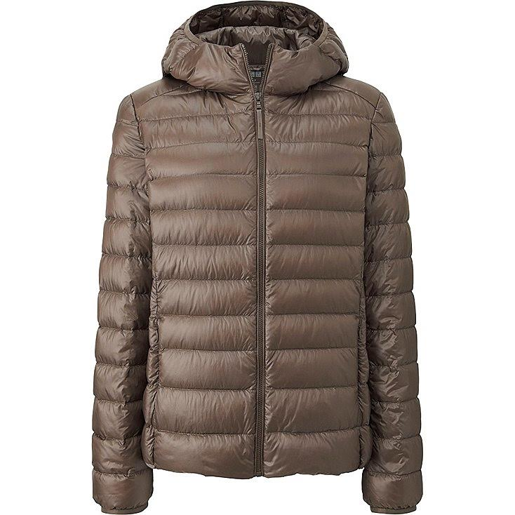 Importados Web Uniqlo Ultra Light Down Parka Mujer Beige