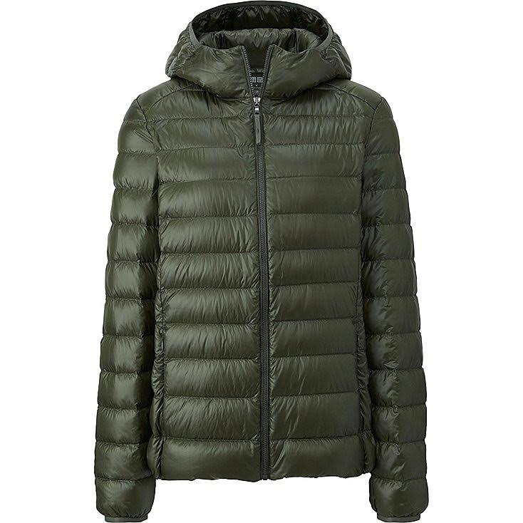 Importados Web Uniqlo Ultra Light Down Parka Mujer Olive